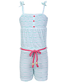 FS Mini Klub Singlet Jump Suit - Blue