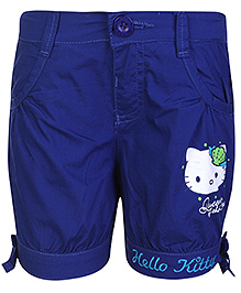 Hello Kitty Blue Shorts - Queen of the Sea Print