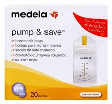 Medela - Pump & Save Breastmilk Bags