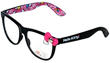 Hello Kitty Sunglasses with Cute Bow- Black
