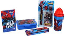 Spider Man School Kit - Set of 5