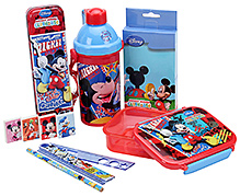 Disney Mickey Mouse Club House School Kit - Pack Of 6