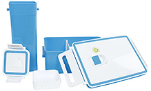 Fab N Funky Lunch Box With Tumbler - Blue