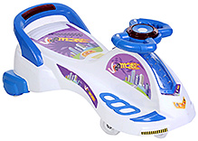 Toyzone Musical Twister Car City Swing Car - Blue and White