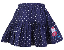 Hello Kitty Skirt Blue - Polka Dot Print