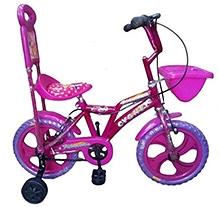 Khaitan Economy Bicycle Pink - 12  Inches Wheel Diameter