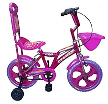 Khaitan Economy Bicycle Pink - 14 Inches Wheel Diameter
