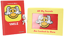 Archies Notebook With Lock - Smiley World