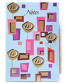 Archies Notebook With Pen - 128 Pages