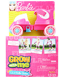Fisher Price Grow with Me Barbie Roller Skates