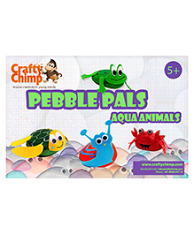 Crafty Chimp Pebble Pals - Aqua Animals