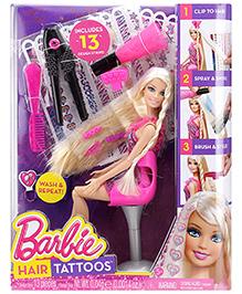 Barbie Hair Tattoos - 24 cm