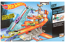 Hotwheels City Motorized Mega Garage
