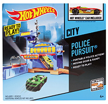 Hotwheels City Police Pursuit