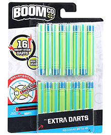 Boomco Extra Darts - Green And Blue