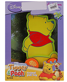 Disney My Friends Tigger And Pooh Pull Along Toy
