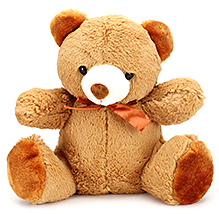 IR Soft Gold Brown Teddy Bear - 30 cm