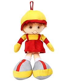 IR Soft Doll With Loop - Red