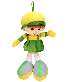 IR Soft Doll With Loop - Green