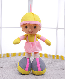 IR Soft Doll With Loop - Pink - Height 37 Cm
