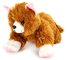 IR Cat Soft Toy - Dark Brown