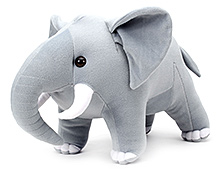 IR Soft Toy Elephant Big - Grey