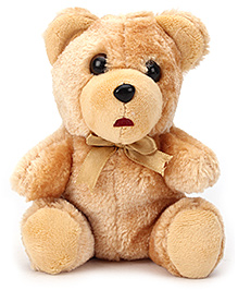 IR Soft Light Brown Teddy Bear - 15 cm