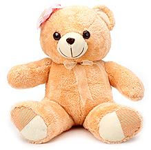 IR Soft Peach Teddy Bear - 45 cm