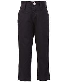 Giny And Jony Fixed Waist Trouser - Black
