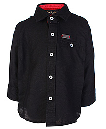 Gini & Jony Full Sleeves Shirt Black