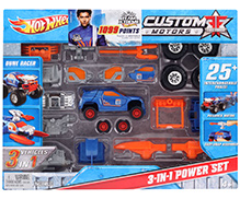 Hotwheels Custom Motors 3 In 1 Power Set