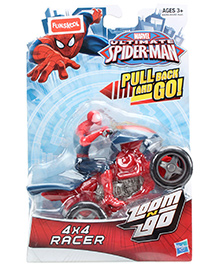 Funskool Spider Man Pull Back And Go Racer