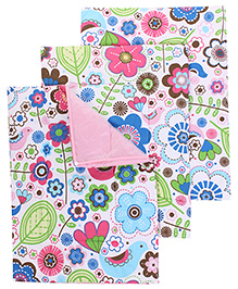 Mee Mee Diaper Changing Mats Flower Print - Pack of 3