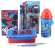 Marve The Amazing Spider Man School Kit - Pack of 6