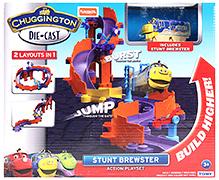 Chuggington Die Cast Stunt Brewster