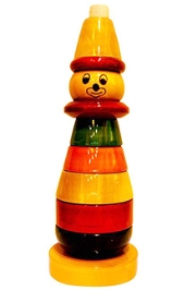 Desi Toys Wooden Lalla Stacker