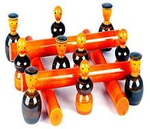 Desi Toys Wooden Phuli Gola Game