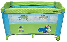 Lollipop Lane Babidu Travel Cot