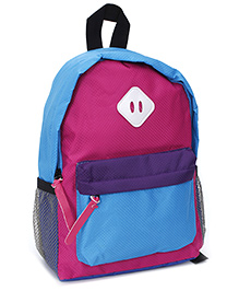 Fab N Funky School Bag - Dark Pink