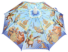 Fab N Funky Kids Umbrella Blue - Bears Print