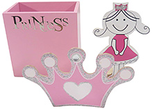 Kidoz Princess Pencil Stand with Base - Pink