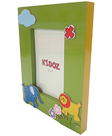 Kidoz Animal Design Frame - Light Green