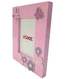 Kidoz Flower Design Frame - Light Pink