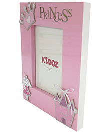 Kidoz Princess Photo Frame - Light Pink