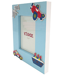 Kidoz Transport Vehicle Printed Photo Frame - Light Blue