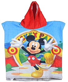 Sassoon Mickey Mouse Printed Poncho
