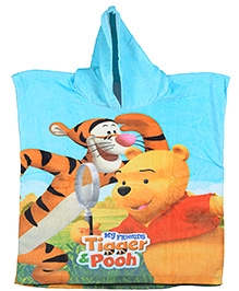 Sassoon Winnie The Pooh And Tiger Printed Poncho