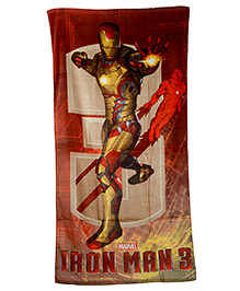 Sassoon Iron Man 3 Print Bath Towel