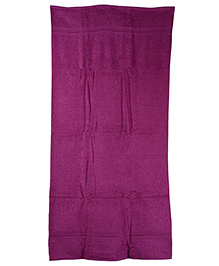 Sassoon Calzedonia Plain Towel - Purple