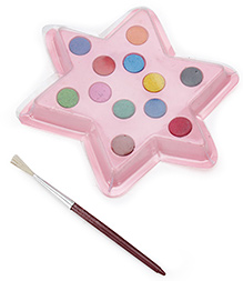 Mr. Clean Gems Water Crayons Pack with Star Shape Palette- 12 Shades - 11 x 11 x 1 cm